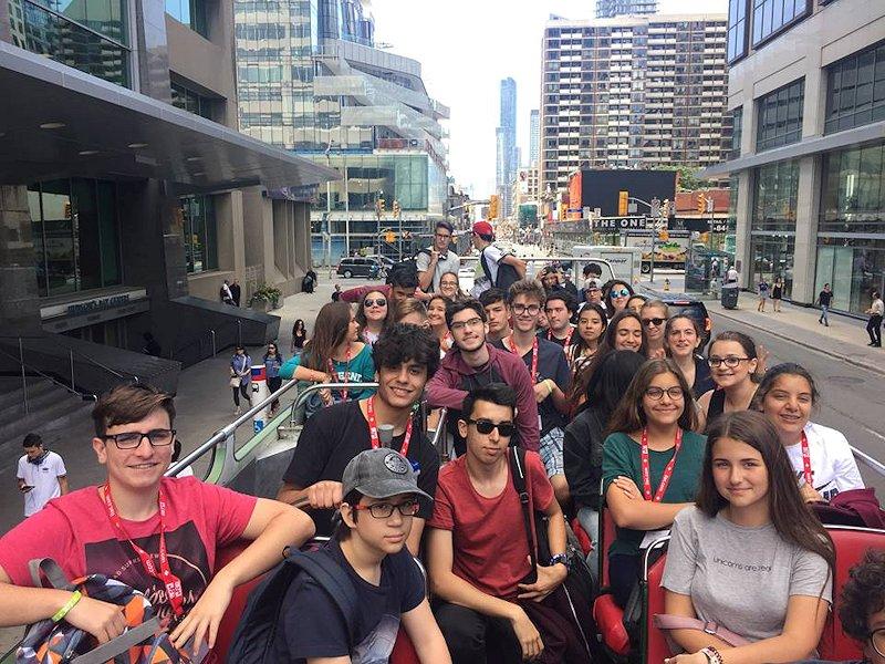 Partir en séjour linguistique multi activités au Canada - bus tour de Vancouver