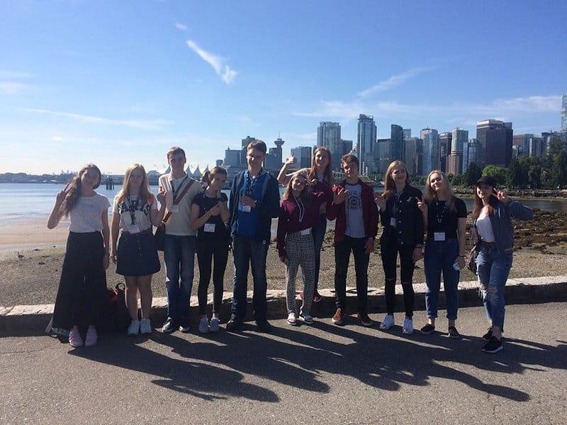 Visite du Canada