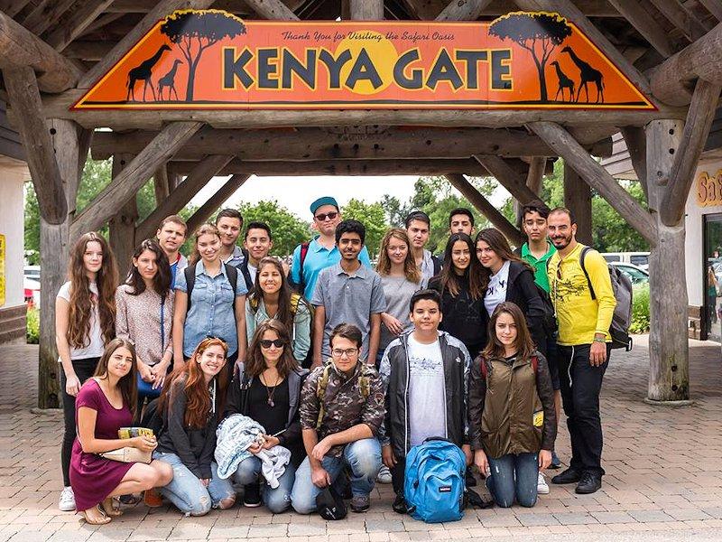 Partir en séjour linguistique en multi activités au Canada - excursion au zoo