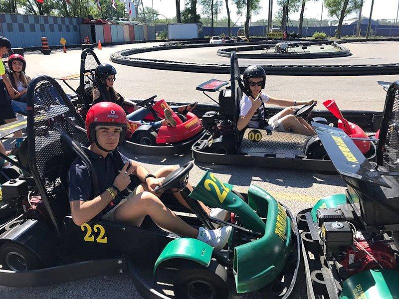 Sortie Karting avec le groupe
