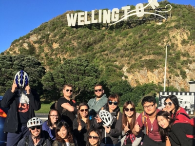Partir en demi-pair en Nouvelle Zélande à Wellington : excursion avec étudiants internationaux