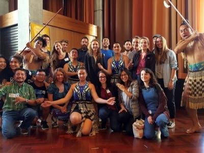 Partir en demi-pair en Nouvelle-Zélande à Wellington : spectacle en école de langue