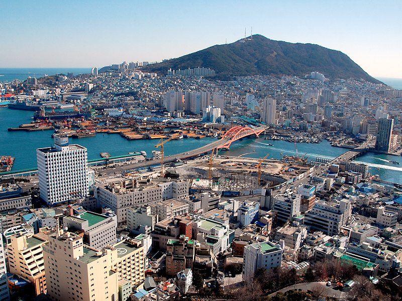 Découvrez Busan en Corée du Sud