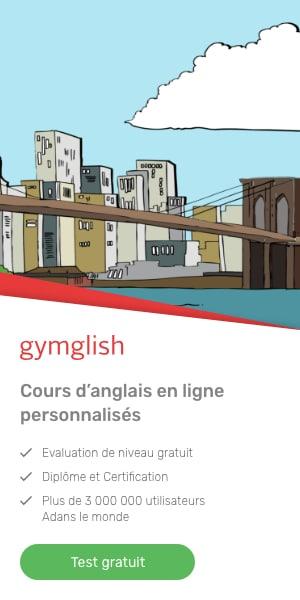 Tester gratuitement votre anglais chez Gymglish grâce à l'association ARAM