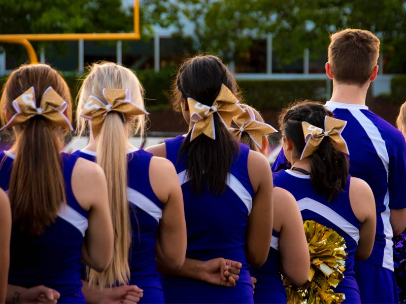 cheerleaders états unis