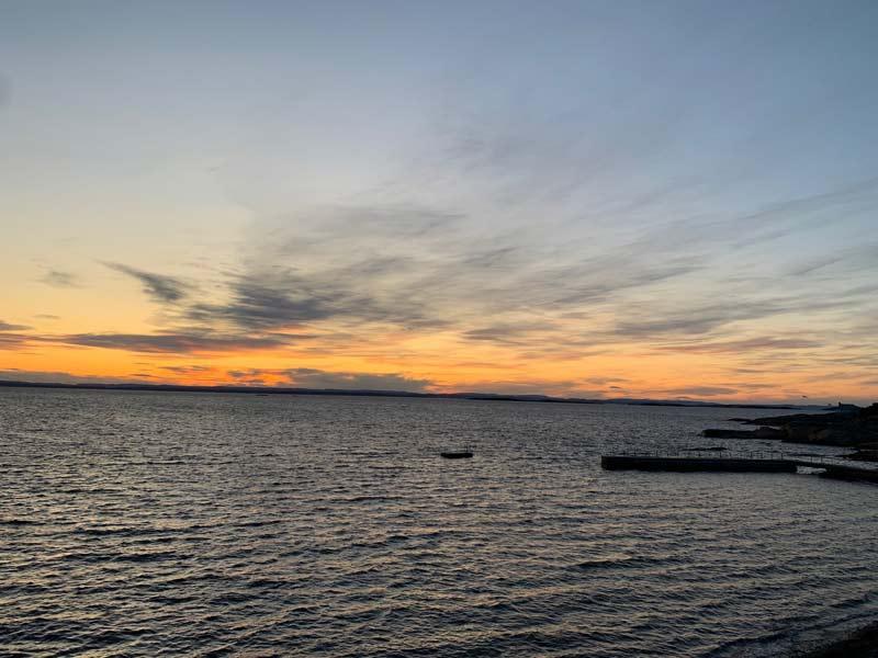 Scolarité en Norvège vue mer