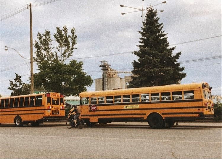School bus au Canada