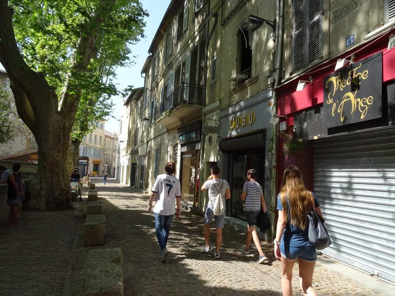 Avignon city center