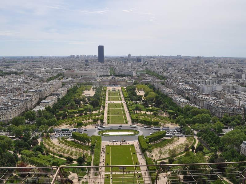 Champs de mars in Paris