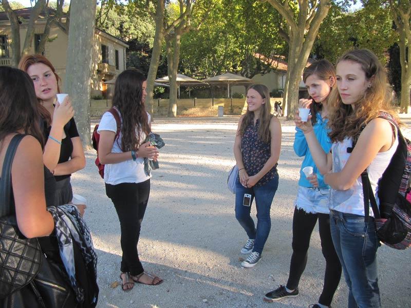 Exchange students activity
