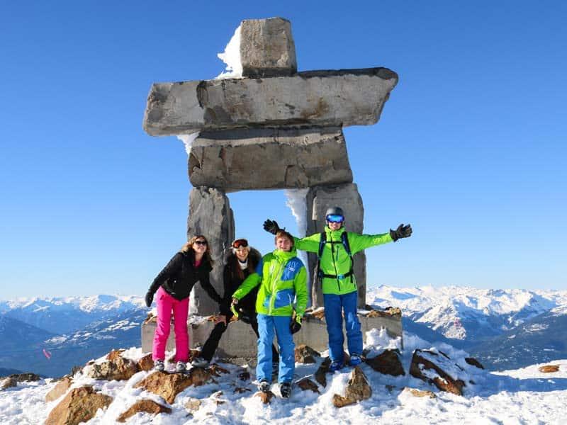 ski au Canada
