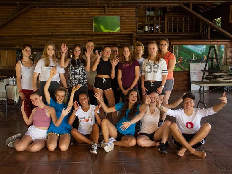Classe au Costa Rica