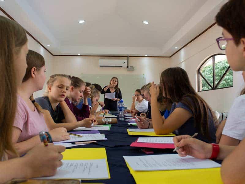 cours d'espagnol au Costa Rica