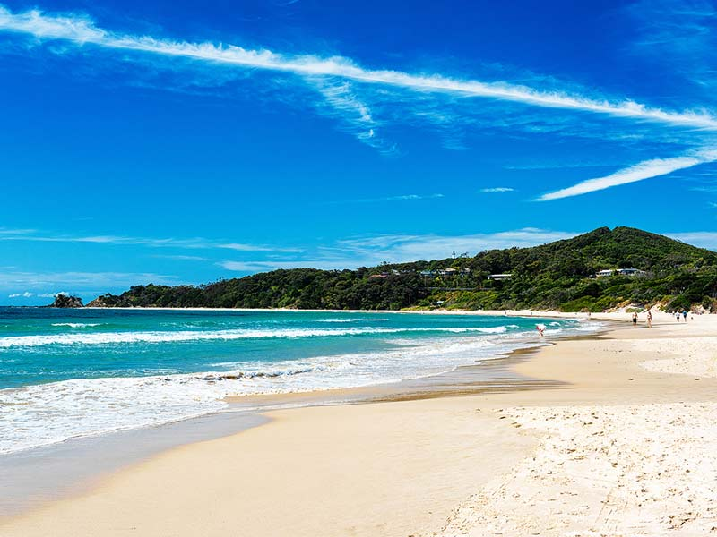 Byron Bay plage Australie