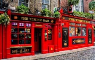 The Temple Bar à Dublin