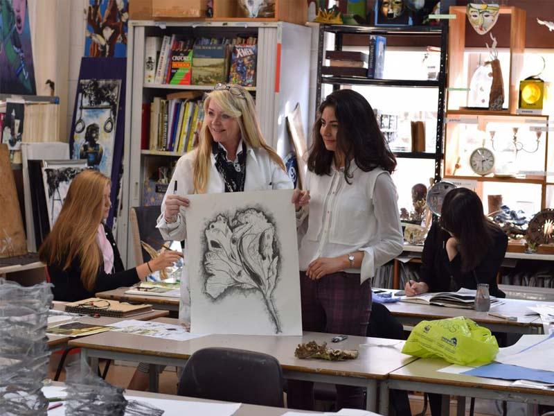 classe d'Art high school