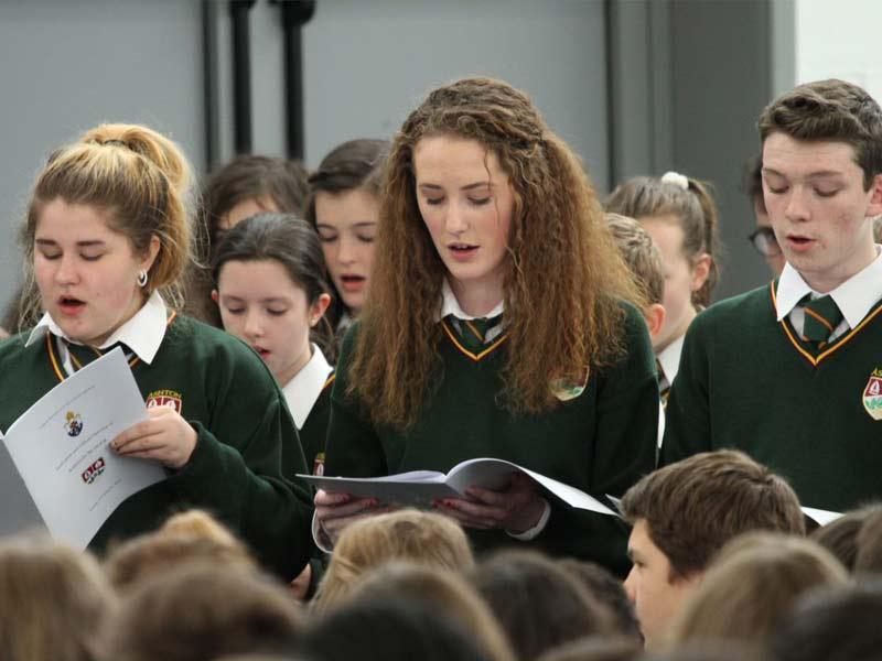 chorale lycée irlandais