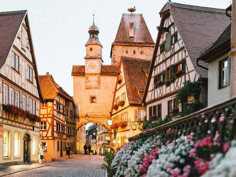village typique Allemagne