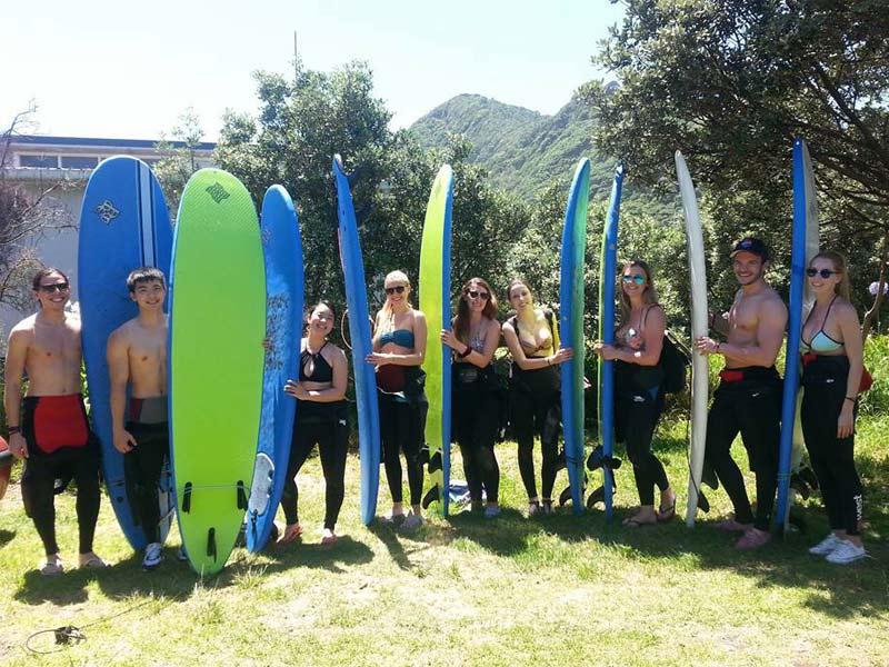 activité surf Nouvelle Zélande