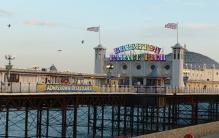 vue port Brighton Angleterre