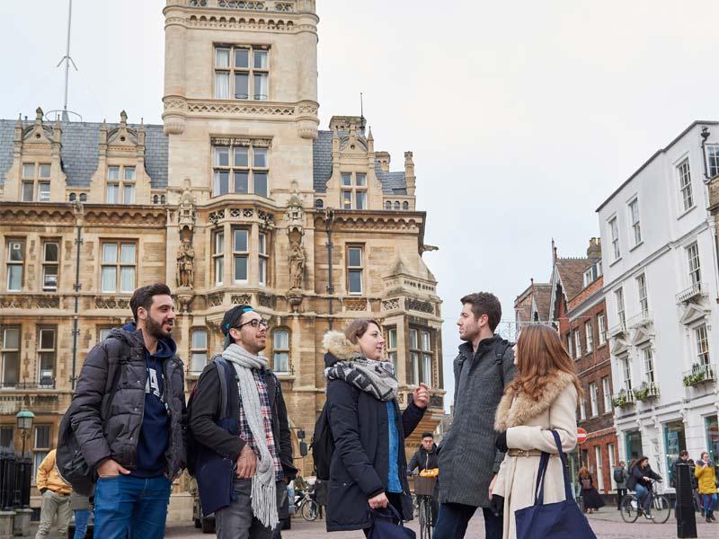 école de langue Cambridge