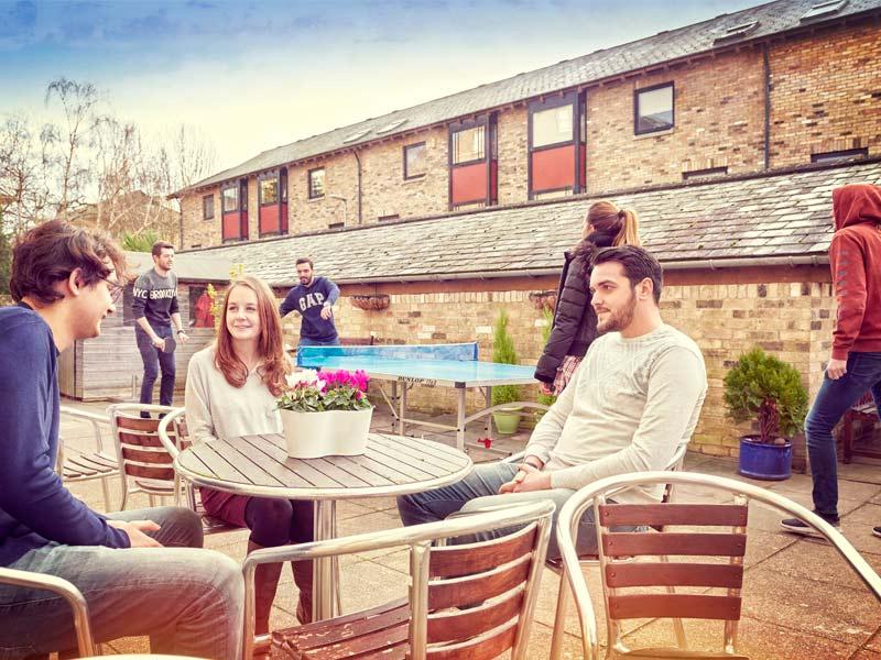 Terrace école de langue Cambridge
